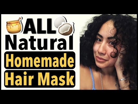 Mask para sa buhok conditioner na may bitamina