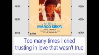 I'll Face Tomorrow By Marco Sison (With Lyrics)