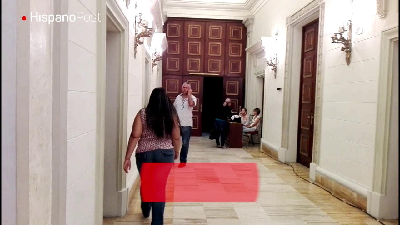 Chavismo y oposición intentan convivir en el Palacio Legislativo