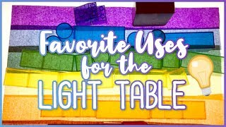 Tips For Using The Light Table In The Classroom
