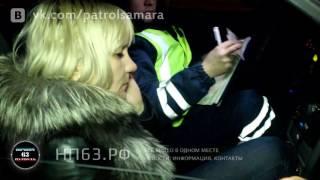 Пьяная дама за рулем у Метелицы
