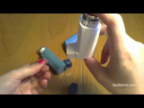 Cómo utilizar un inhalador presurizado | facilisimo.com
