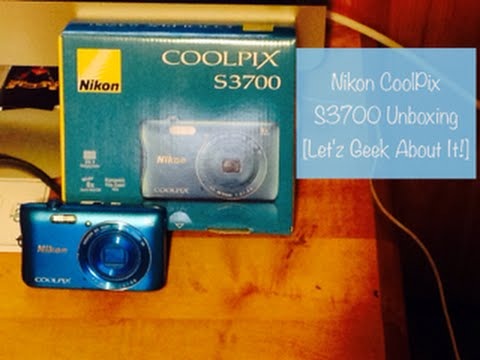 Nikon CoolPix S3700 Unboxing [Let'z Geek About It!]- VEDA #18 [04/27/15]