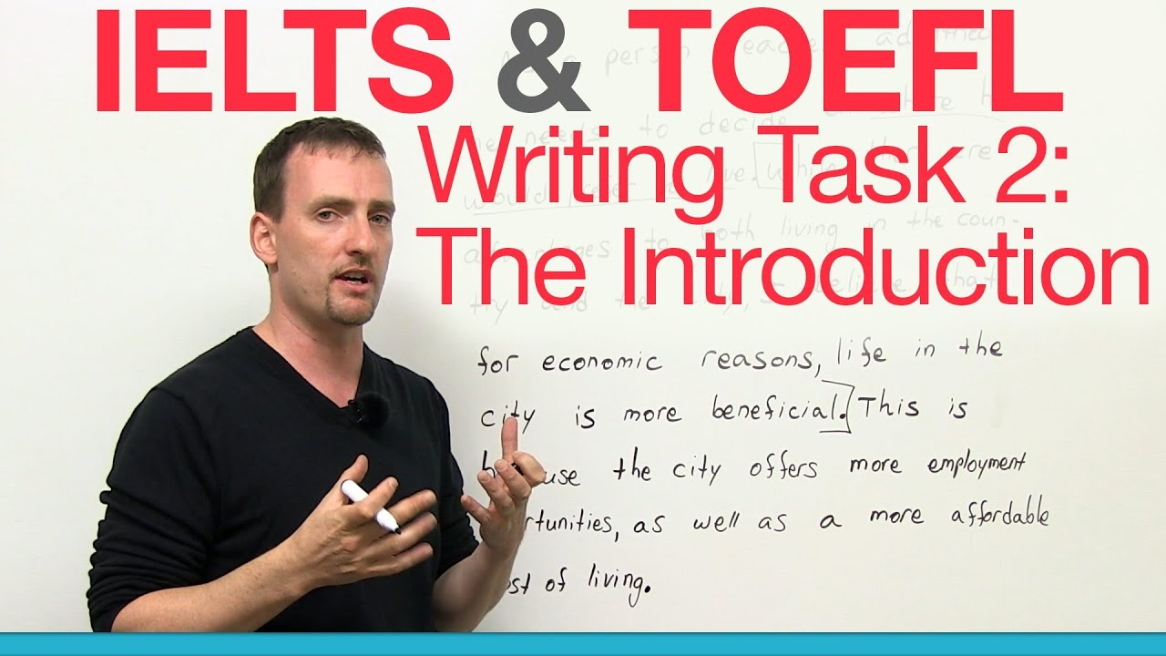 writing introduction for ielts essay