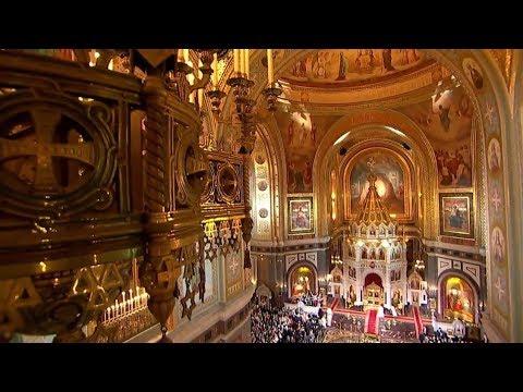 Венчание в храме христа-спасителя