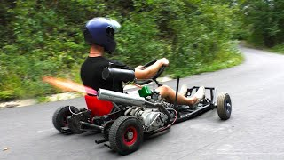 How To Build A Motorized Go Kart At Home