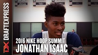 2016 Jonathan Isaac Nike Hoop Summit Interview - DraftExpress by DraftExpress