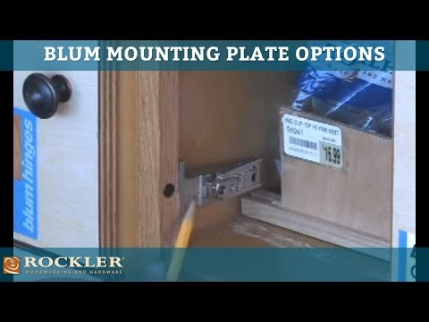 BLUM - Mounting Plate Options