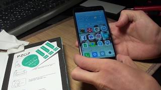 Как установить закаленное стекло для Xiaomi Redmi 4X
