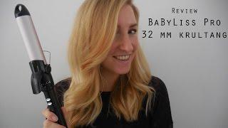 Eerste indruk - BaByliss Pro 32mm krultang