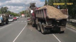 Неудержимые грузовики Подборка Без тормозов #7
