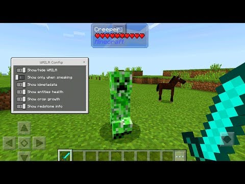MOB HACKS in Minecraft Pocket Edition (WAILA MOD)