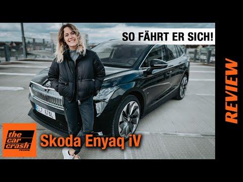 Skoda Enyaq iV im Test (2021) So fährt sich das Elektroauto ab 25.000€! Fahrbericht   Review   Preis