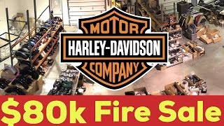 Harley Davidson Parts Liquidation