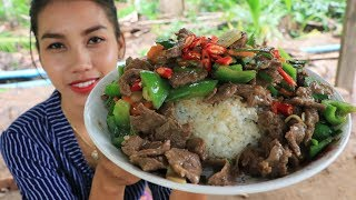 Yummy cooking beef with chili recipe - Cooking skill