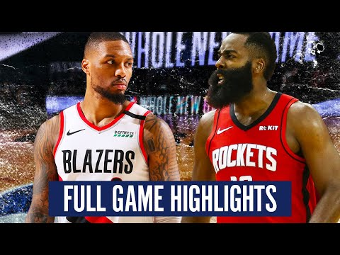 PORTLAND TRAILBLAZERS VS. HOUSTON ROCKETS – FULL GAME HIGHLIGHTS | 2019-20 NBA SEASON