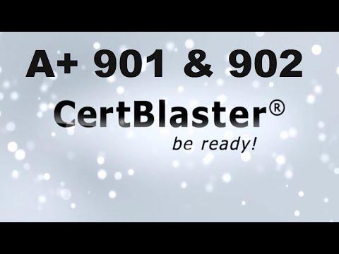 CertBlaster A+ Practice Test 901 & 902 Bundle - YouTube