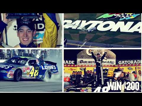 Celebrating 250 Cup wins for Hendrick Motorsports