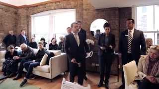 Auction Video - 13/92 Shepherd St, Chippendale - Ercan Ersan & Shaun Stoker