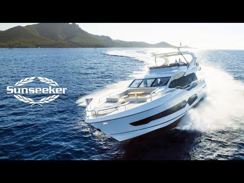 Sunseeker 76 Yacht video