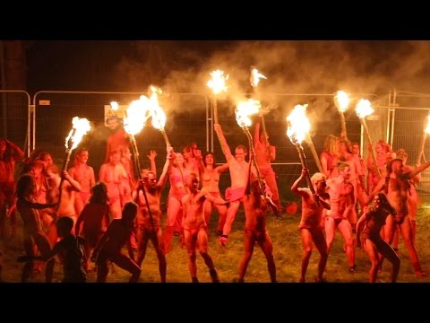 SCOTTISH NAKED FIRE PARTY