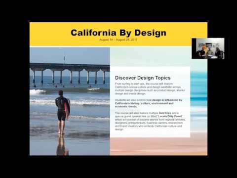 CA by Design Summer Course info session