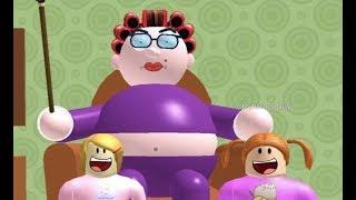 Roblox Escape Grandma With Molly & Daisy Part 1 & 2