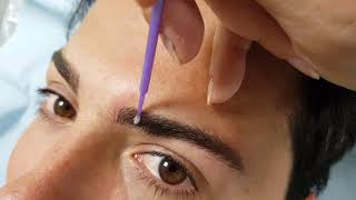 Male Microblading Eyebrows Density Restoration by El Truchan @ Perfect Definition