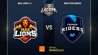 MAD Lions E.C. VS Movistar Riders | Semifinales | La Copa 2019 - Playoffs
