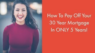 How insurance agents can pay off their 30 year mortgage in just 5 years