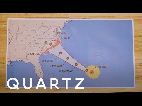 Do You Know How to Read a Hurricane Map?