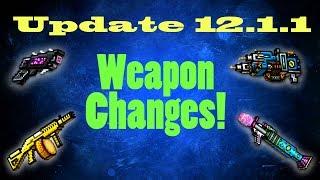 5 Weapon Changes in Pixel Gun 3D! (12.1.1)