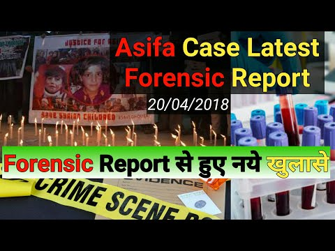 Asifa case latest update | Asifa case forensic report | Ashifa case latest news | Asifa Case Live