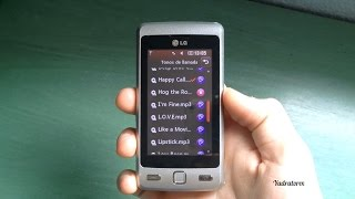 LG KP501 review (ringtones, apps and others)