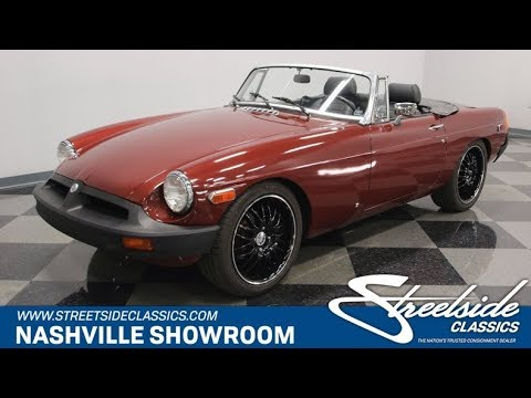 Video of '79 MGB - PX6P