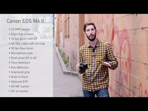 External Review Video 7YOIzjr2z1g for Canon EOS M6 Mark II APS-C Mirrorless Camera