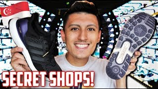 BEST ULTRABOOST SITTING in SINGAPORE + HIDDEN STORES! (Shopping Guide)