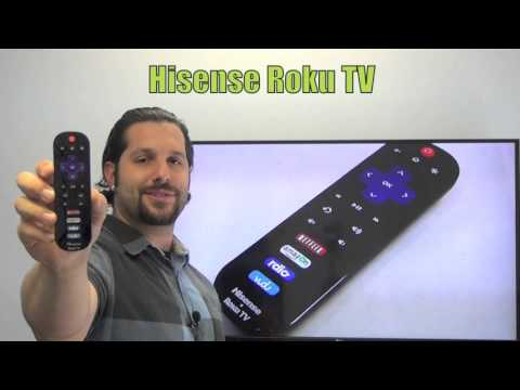 HISENSE EN3A32 ROKU TV Remote Control
