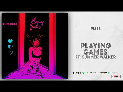 "Plies – ""Playing Games"" Ft. Summer Walker"