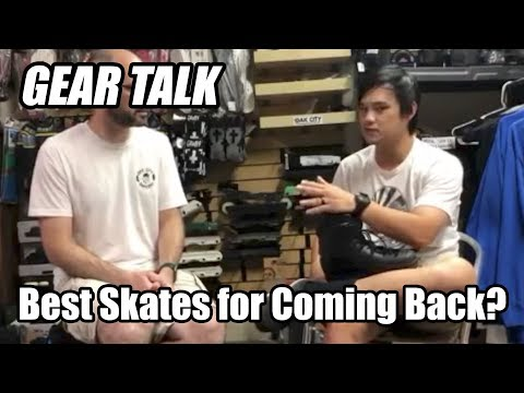 Which aggressive inline skates should I get when coming back to blading?
