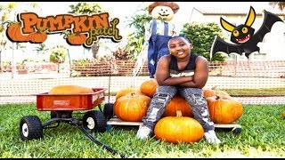 Pumpkin Patch Caught On Camera w/ Swaggboi