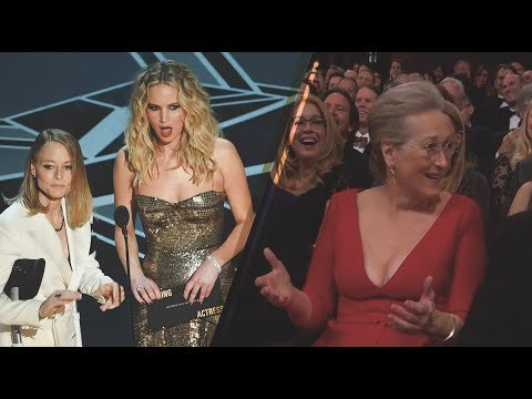 Jennifer Lawrence and Jodie Foster SLAM Meryl Streep; Bring Her To Tears | 2018 Oscars