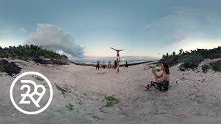 Watch This Fire Dancer in 360 | Fashionably Bound-Tulum
