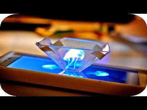 ‹(◕‿◕)› 와 ! 초간단 3D 홀로그램 만드는법