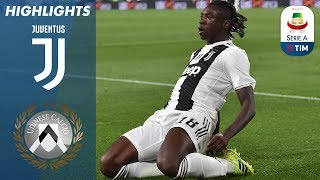 Juventus 4-1 Udinese | Ronaldo rested as Kean double puts Juve 19 points clear | Serie A
