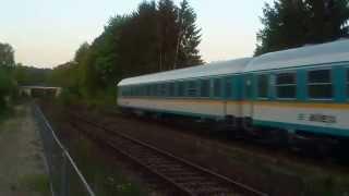 preview picture of video 'Ex|ALX 350 Albert Einstein Praha hl.n. - München Hbf v zast. Arnschwang'