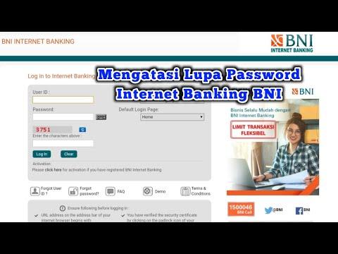 Cara Mengatasi Lupa Password Internet Banking BNI