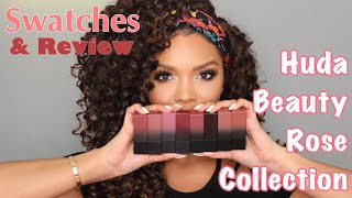 Huda Beauty Lipstick Swatches + Review | MakeupbyDenise