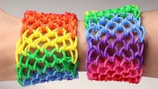 Rainbow Loom Nederlands - Dragon Scale || Loom bands, rainbow loom, nederlands, tutorial, how to