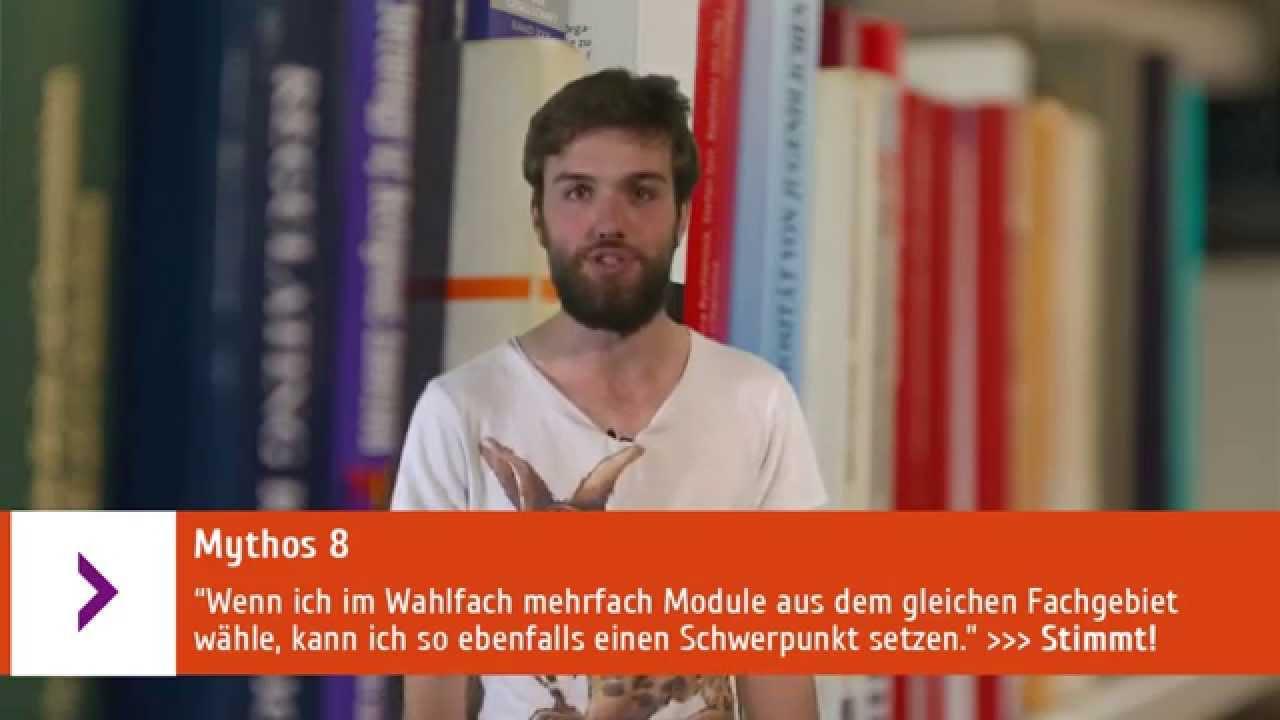 Erklärvideo Zehn Mythen zum Wahlbereich der Universität Leipzig